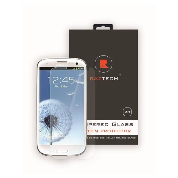Tempered Glass Screen Protector Samsung Galaxy S3 I9300 by Raz Tech