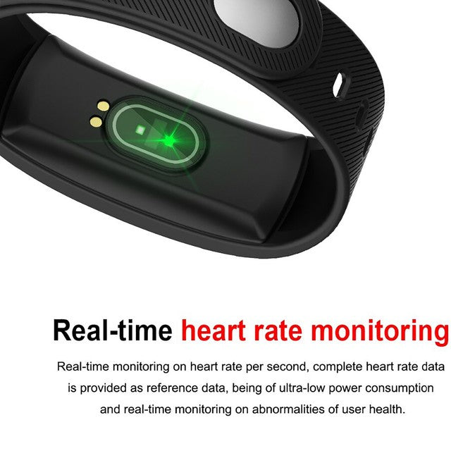 Smart Watch Heart Rate Monitor Tracker Fitness Sports Watch QS80
