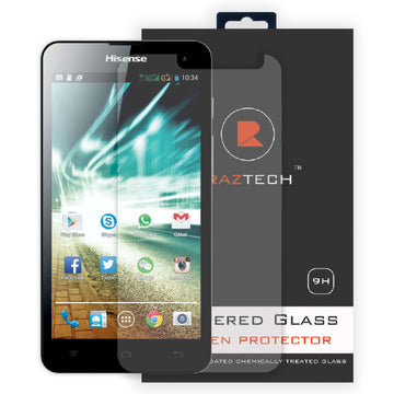 Raz Tech Tempered Glass Screen Protector for HiSense U971