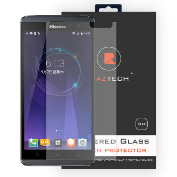 Raz Tech Tempered Glass Screen Protector for HiSense U980