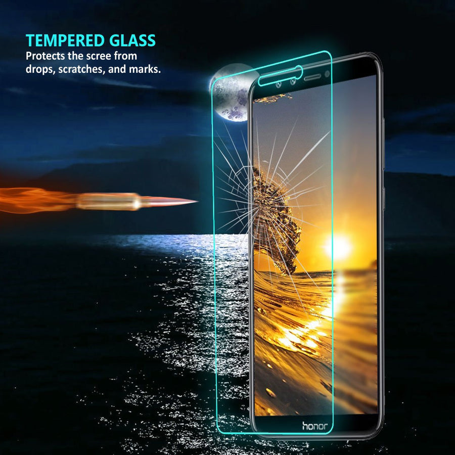 Huawei Genreci Product Huawei Honor P9 Lite Tempered Glass Screen Protector  Extra Strength Glass