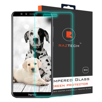 Tempered Glass Screen Protector for Huawei Honor P9 Lite - Extra Strength Glass - by Raz Tech