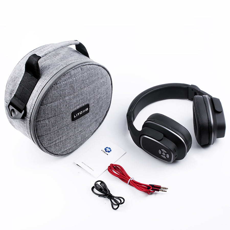 Wireless Bluetooth Stereo Headphone & Wireless Speaker Earphone With Mic