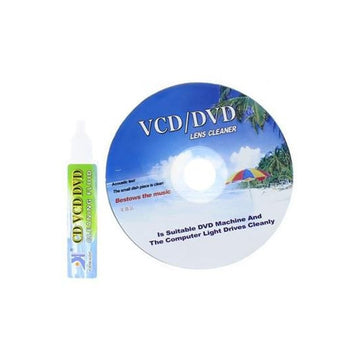 Lens Cleaner for CD-DVD-VCD Rom Player Laptop Computer Cleaning Fluid - by Raz Tech