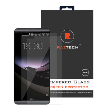 Raz Tech LG V20 Tempered Glass Screen Protector - (Pack of 2)