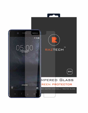 Nokia Generic Tempered Glass Screen Protector for Nokia 5  Extra Strength Glass