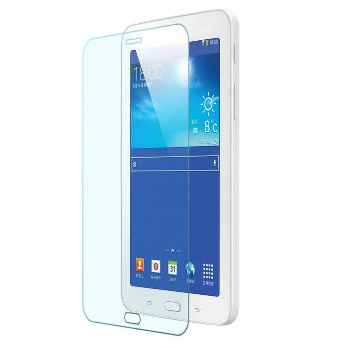 Premium Anti-shock Tempered Glass Screen Protector for Samsung Galaxy Tab 3 T110 - by Raz Tech