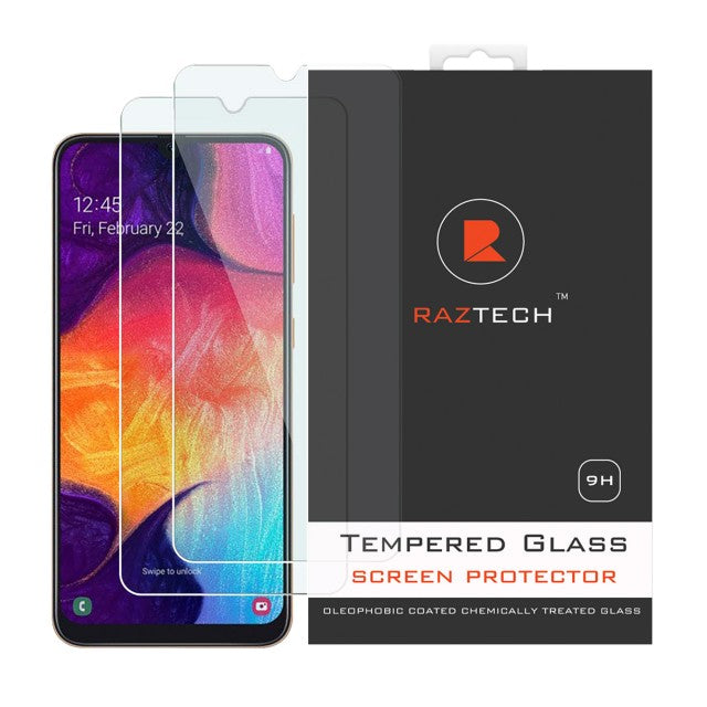 Tempered Glass for Samsung Galaxy A30 SM-A305F (Pack of 2)