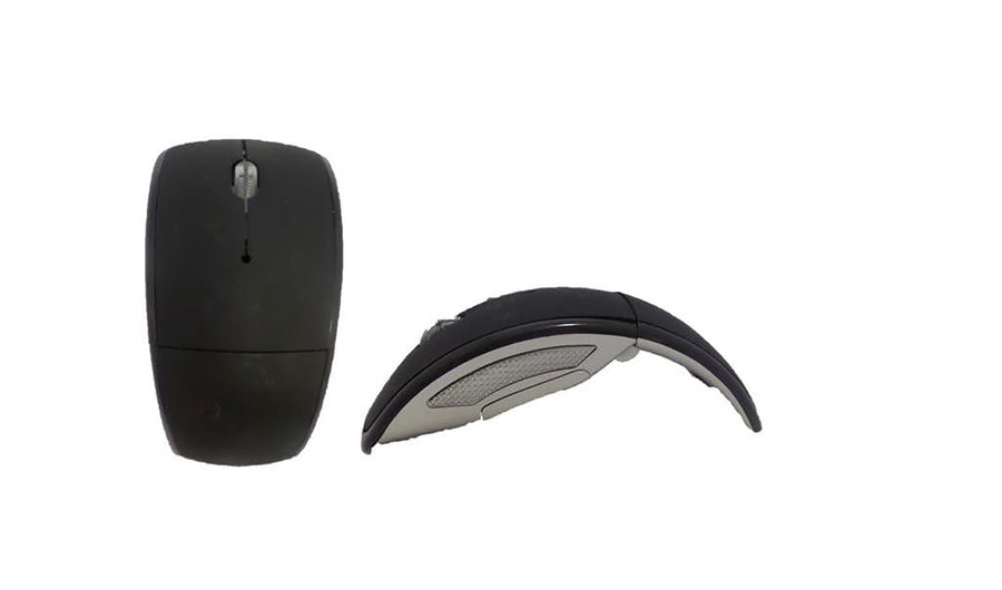 Arc Wireless Mouse for Laptop and PC - Black
