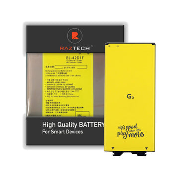 Battery for LG G5 BL- 42D1F - by Raz Tech