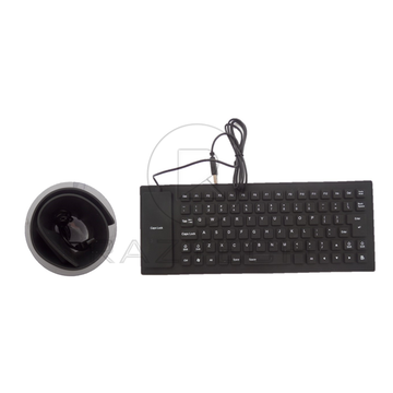 Raz Tech Flexible Silicone USB Keyboard - Black - Accessories - Raz Tech