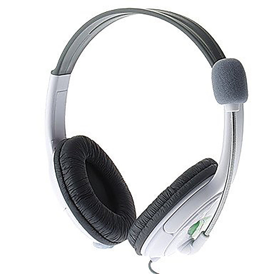 Gaming Headset with Mic Compatible with Microsoft Xbox 360/Xbox 360 Slim - Live Chat Microphone Headphone - by Raz Tech