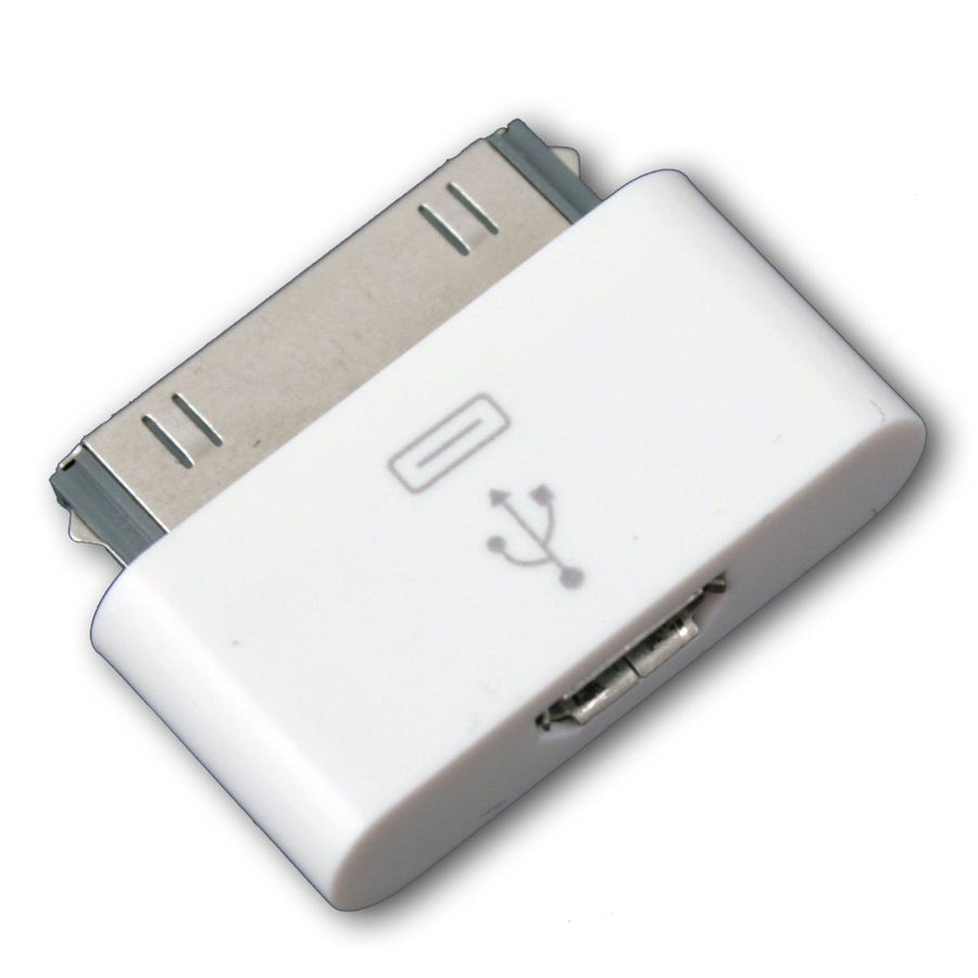 Micro USB to Apple iPhone 30-pin Adapter Connector - by Raz Tech