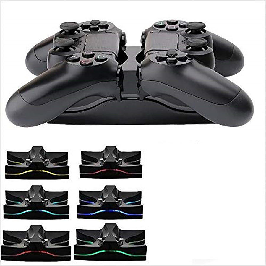 Sony Controller Charger Charging Station for PS4, PS4 Slim & PS4 Pro - Generic Product