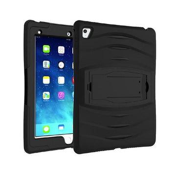 Rugged Stand Protective Case with Stand and Built in Screen Protector for Apple iPad Pro 9.7- by Raz Tech