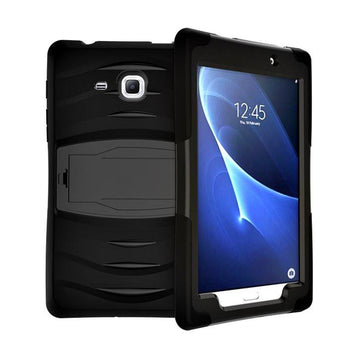 Rugged Stand Protective Case with Stand and Built in Screen Protector for Samsung Galaxy Tab A 7