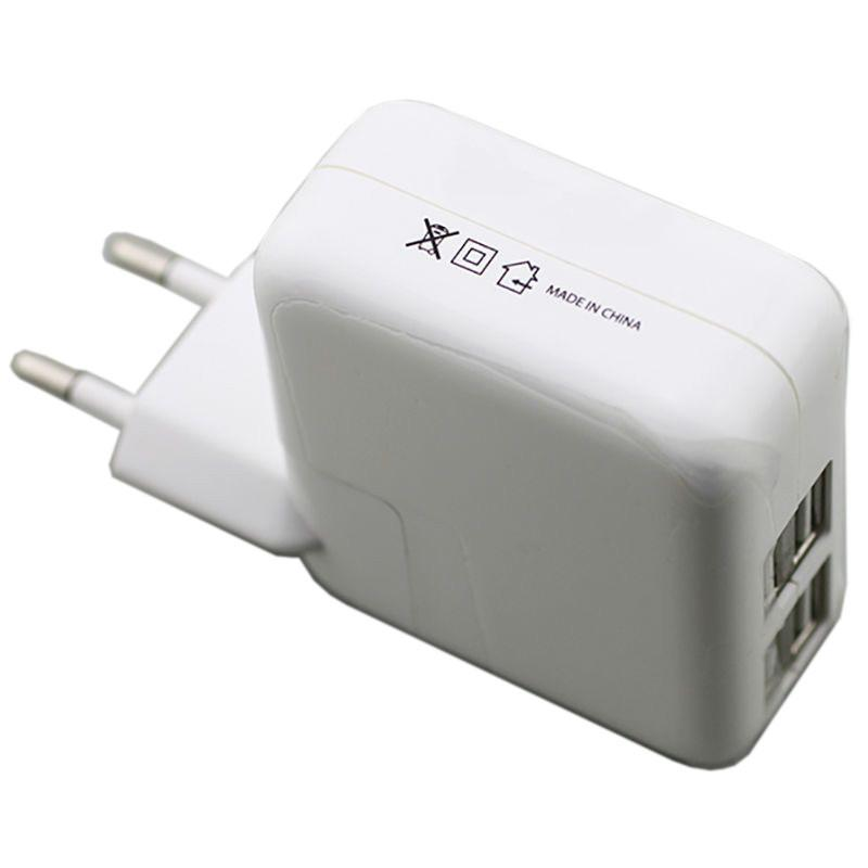 Universal Charger 4 USB Ports for all Smartphones - 4.1 amp Power - by Raz Tech