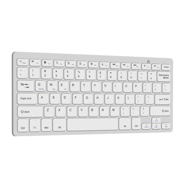 Slim Multimedia Bluetooth Keyboard for Android, MacBook and Windows PCs