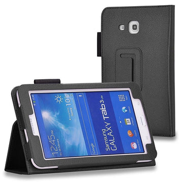 Tablet Leather Flip Case for Samsung Galaxy Tab 3 V T116 - by Raz Tech