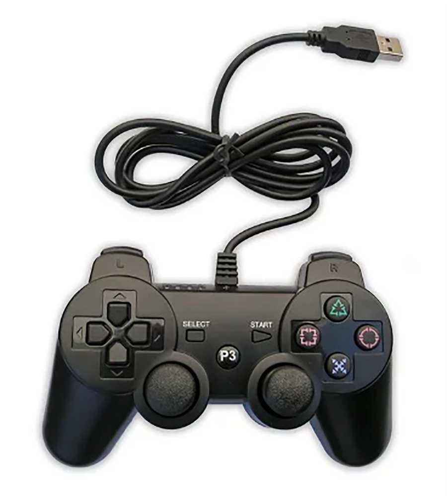 Sony PlayStation 3 PS3 Generic Wired Controller
