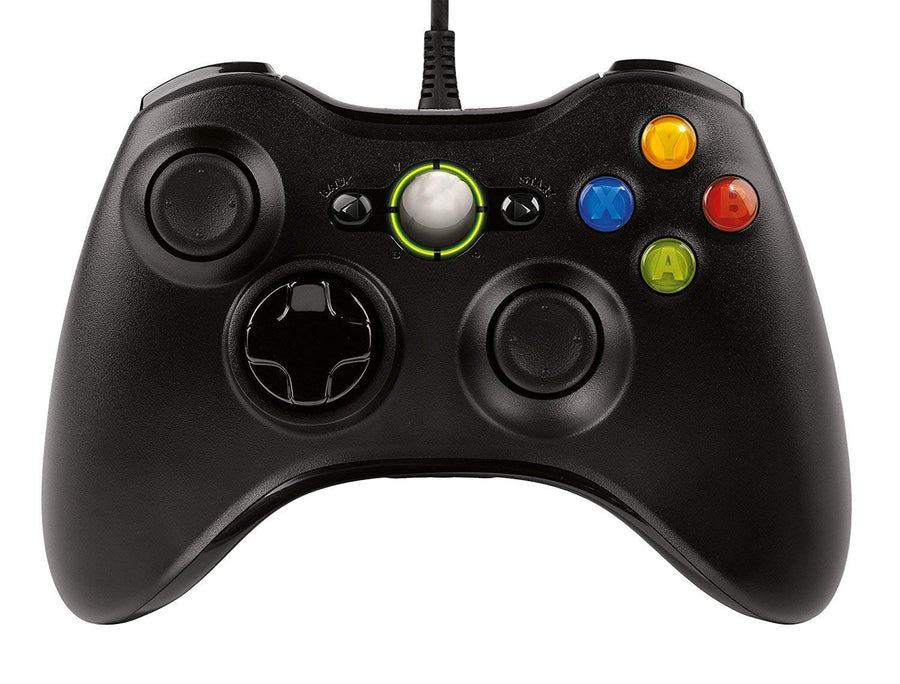 Xbox 360 / 360 Live / 360 Slim-Wired - Generic Controller - Black