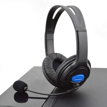 Wired Gaming Headset Headphones For PS4 Playstation 4 & PC Computer - by Raz Tech