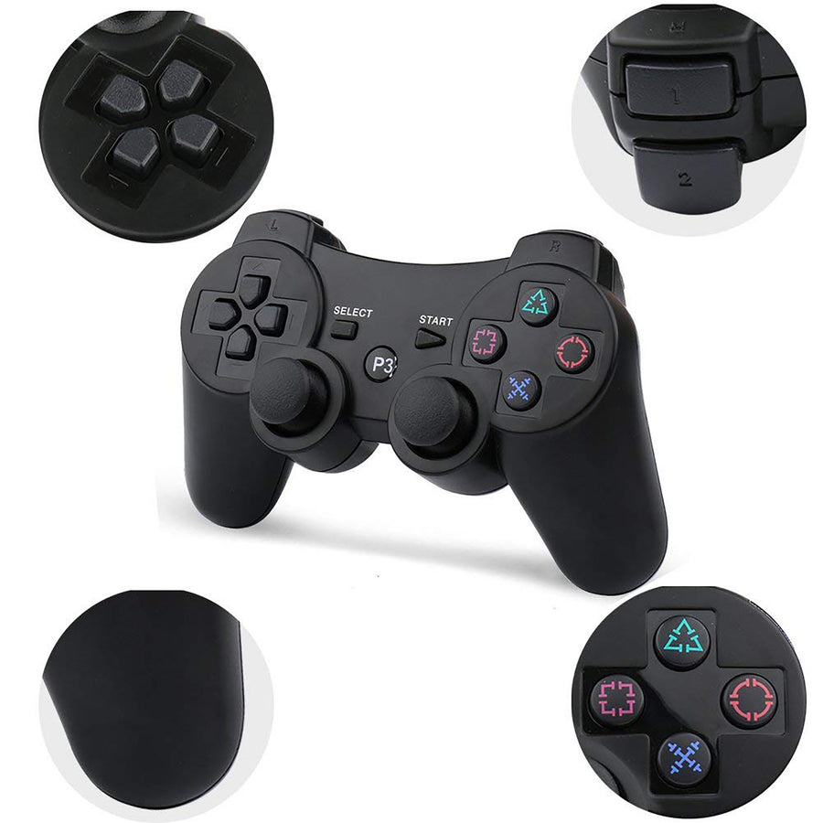 Sony PlayStation 3 PS3 Wireless Double Shock Generic Controller