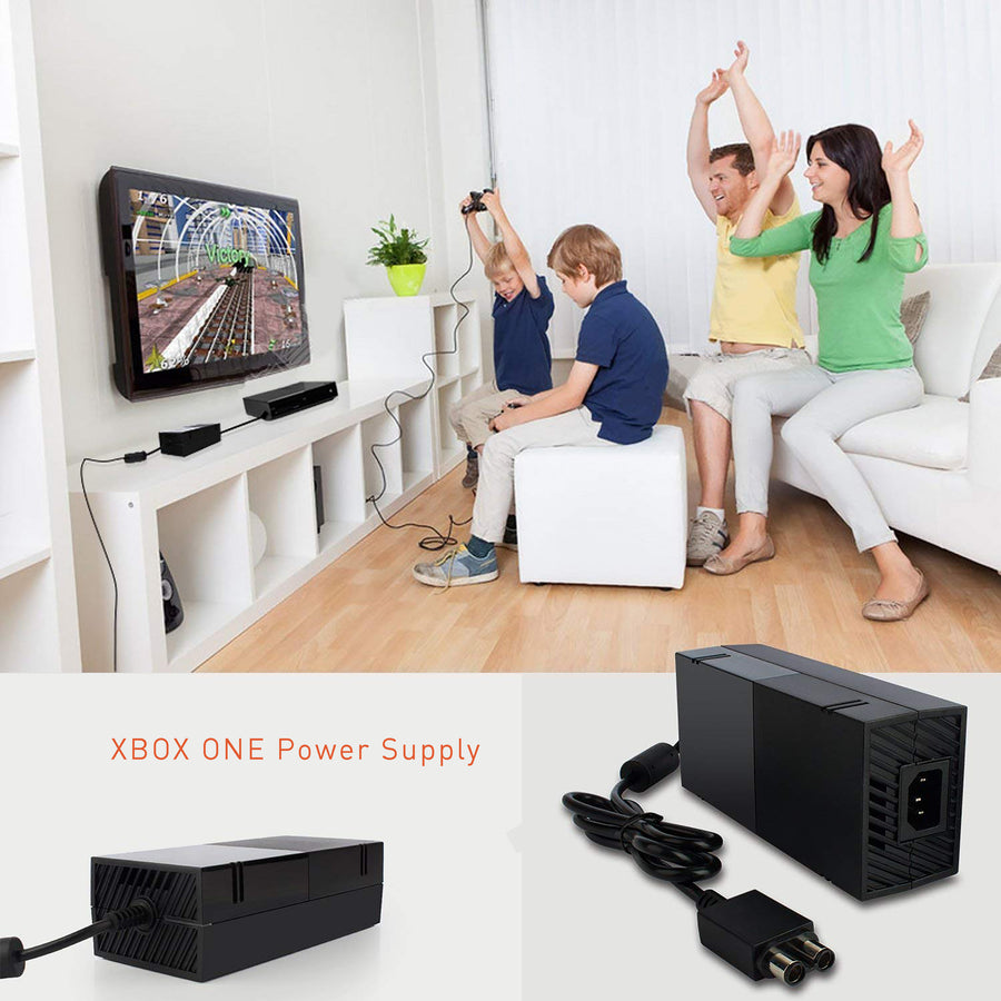 Microsoft Xbox one Power Supply AC Adapter- Black