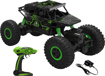 Remote Controlled Rock Leader Monster Truck - Green - by Raz Tech