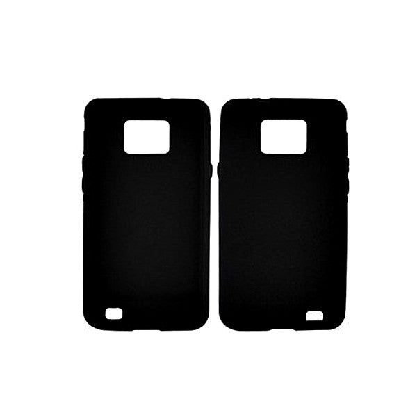 Rubber Gel Case for Samsung Galaxy S2 I9100 - by Raz Tech
