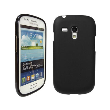 Rubber Gel Case for Samsung Galaxy S3 Mini - by Raz Tech
