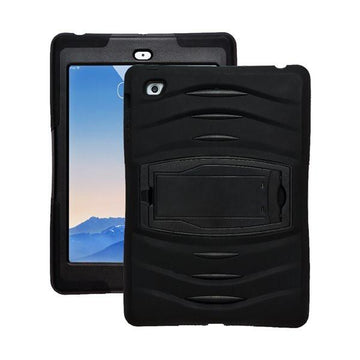Rugged Stand Protective Case with Stand and Built in Screen Protector for Apple iPad Air 2 - by Raz Tech