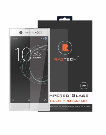 Raz Tech Tempered Glass Screen Protector for Sony Xperia XA 1 - Model XA 1 only