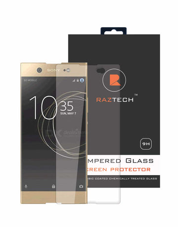 Sony Xperia XA1 Ultra Tempered Glass Screen Protector for Sony Xperia XA 1 Ultra - Pack of 2