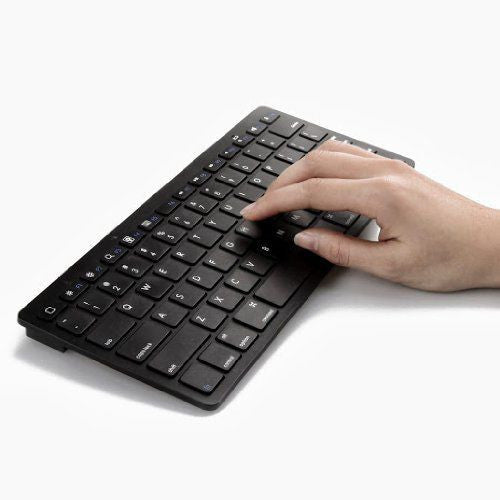 Slim Bluetooth Keyboard For Smartphones And Computers - by Raz Tech