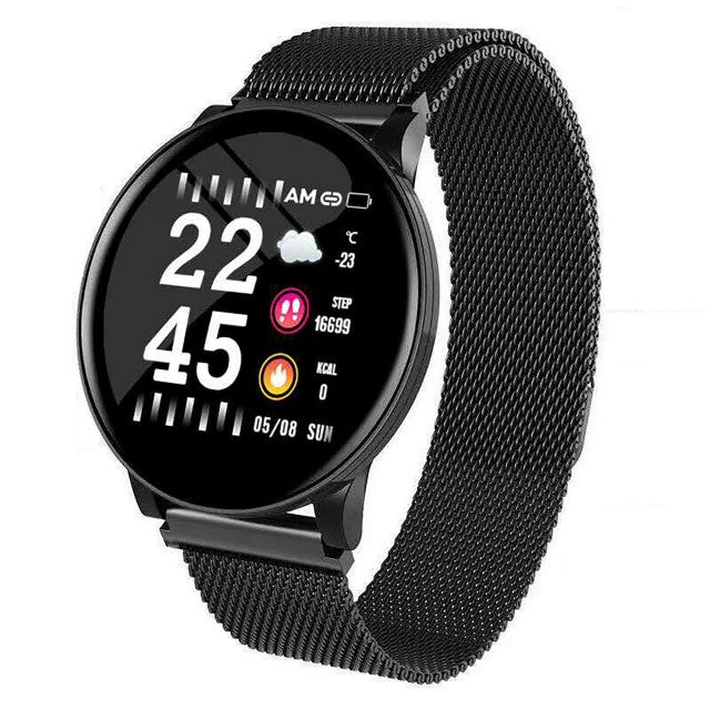Smart Watch Heart Rate Monitor Tracker Fitness Sports Watch W8