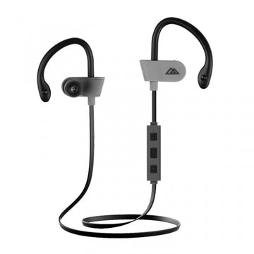 Sport Wireless Rechargeable Stereo Earphones E260 with In-Line Microphone - by Raz Tech