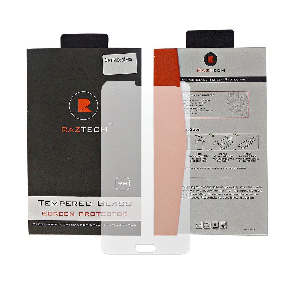 Raz Tech Tempered Glass Screen Protector for Samsung Galaxy A3 - Screen Protectors - Raz Tech - 2