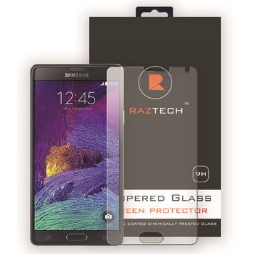Raz Tech Tempered Glass Screen Protector for Samsung Galaxy Note 4 - Tempered Glass Screen Protector - Raz Tech