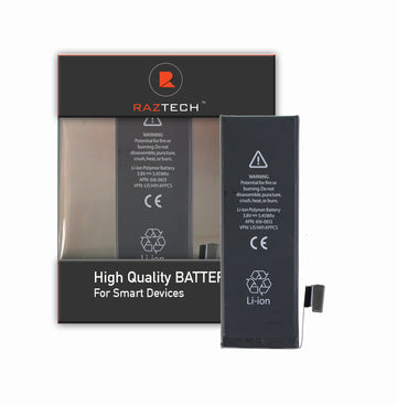 Battery for Apple iPhone 5S by Raz Tech