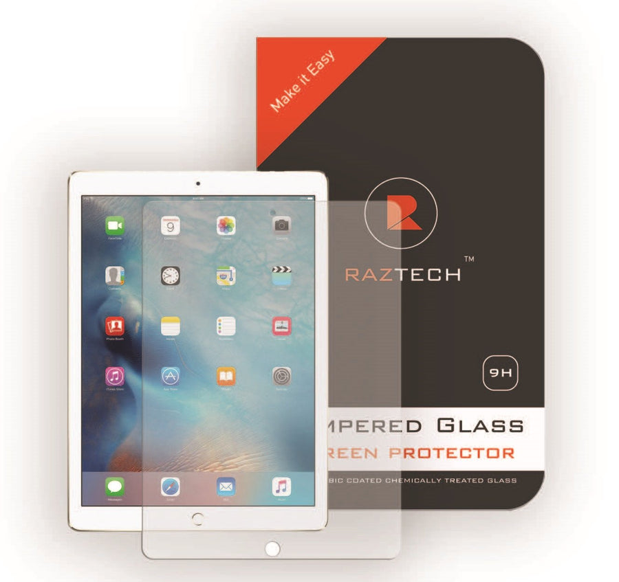 Raz Tech Ashai Tempered Glass Screen Protector for Apple iPad Pro 12.9 inch -  - Raz Tech
