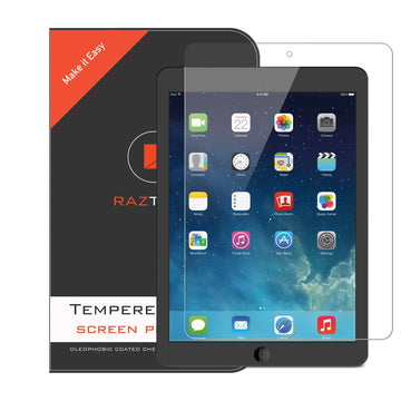 Tempered Glass Screen Protector for Apple iPad 5