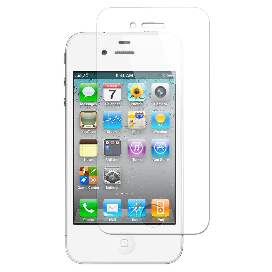 Tempered Glass Screen Protector for Apple iPhone 4S - by Raz Tech
