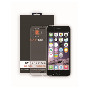 Tempered Glass Screen Protector for Apple iPhone 6 by Raz Tech