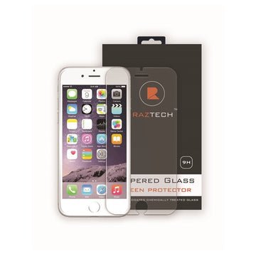 Tempered Glass Screen Protector for Apple iPhone 6S Plus by Raz Tech
