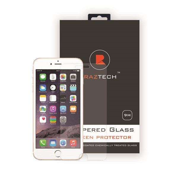 Tempered Glass Screen Protector for Apple iPhone 7 Plus by Raz Tech