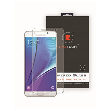 Tempered Glass Screen Protector for Samsung Galaxy Note 5 N920 by Raz Tech