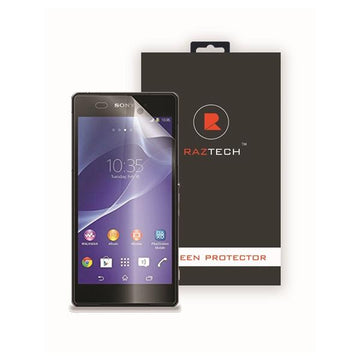 Tempered Glass Screen Protector for Sony Xperia Z2 by Raz Tech