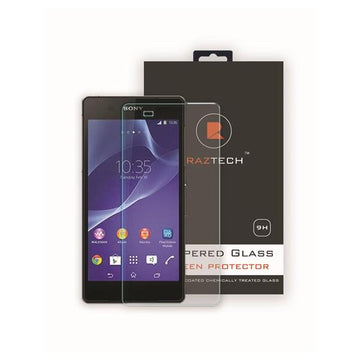 Tempered Glass Screen Protector for Sony Xperia Z3 by Raz Tech