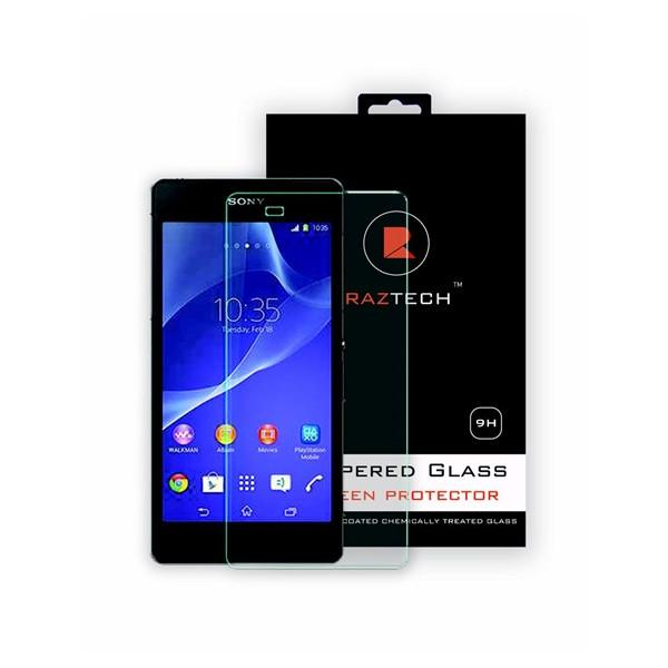 Tempered Glass Screen Protector for Sony Xperia Z3 Compact D5830 - by Raz Tech